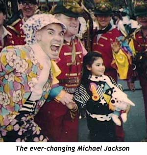 Michael Jackson makes rare public appearance